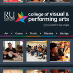 College of Visual and Performing Arts Banner | Art Direction: Leslie King | Student Designer: Jacob Hardbower | Radford University College of Visual and Performing Art | 2015