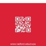 Stay Connected Bookmark | Radford University College of Visual and Performing Arts | Radford, Virginia | 2016