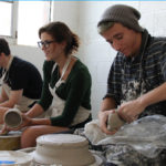 Art Students in Ceramics | Radford University Governors School | Radford, Virginia | 2015