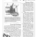 Monthly Newsletter (Print) for the Calvert Marine Museum Volunteers and Staff | Producer, Editor, Designer and Contributor | 1996-2005