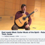 Video Teaser for a Faculty Recital Featuring Dr. Robert Trent    Radford University Department of Music   Video by Leslie King   2014